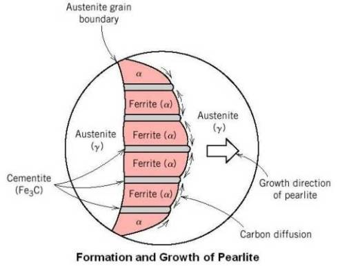 Formation and Growth of Pearlite