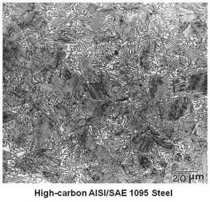 High-carbon AISI 1095 Steel