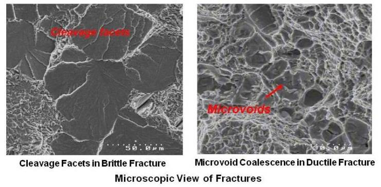 Microscopic View of Fractures