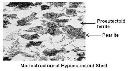 Microstructure of Hypoeutectoid Steel