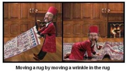Moving a Rug